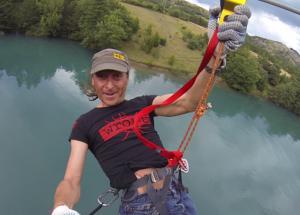 accrobranche savines tyroliennes géantes au dessus du lac
