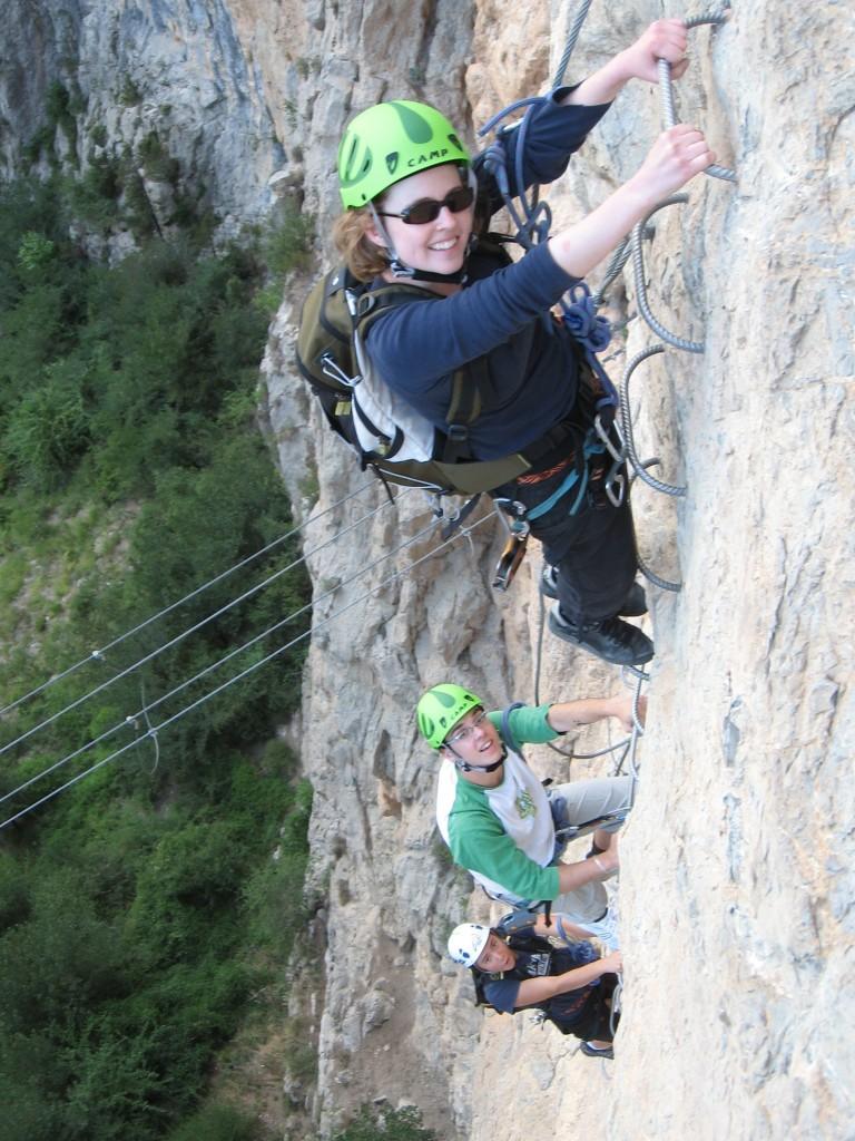 Via ferrata - escalade - La Motte du Caire
